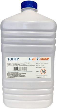 Фото - Тонер Cet CE28-M/CE28-D CET111054550 пурпурный бутылка 550гр. (в компл.:девелопер) для принтера KONICA MINOLTA Bizhub C258/308/368 cet ce28 c ce28 d голубой