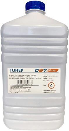 Фото - Тонер Cet CE28-C/CE28-D CET111053550 голубой бутылка 550гр. (в компл.:девелопер) для принтера KONICA MINOLTA Bizhub C258/308/368 cet ce28 c ce28 d голубой