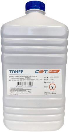 Фото - Тонер Cet CE28-Y/CE28-D CET111055550 желтый бутылка 550гр. (в компл.:девелопер) для принтера KONICA MINOLTA Bizhub C258/308/368 cet ce28 c ce28 d голубой