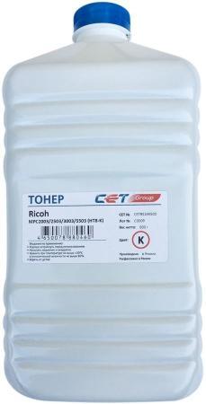 Фото - Тонер Cet HT8-K CET8524K500 черный бутылка 500гр. для принтера RICOH MPC2003/2503/3003/5503 тонер cet ht8 y cet8524y500 желтый бутылка 500гр для принтера ricoh mpc2003 2503 3003 5503