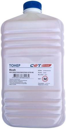 Фото - Тонер Cet HT8-M CET8524M500 пурпурный бутылка 500гр. для принтера RICOH MPC2003/2503/3003/5503 тонер cet ht8 y cet8524y500 желтый бутылка 500гр для принтера ricoh mpc2003 2503 3003 5503