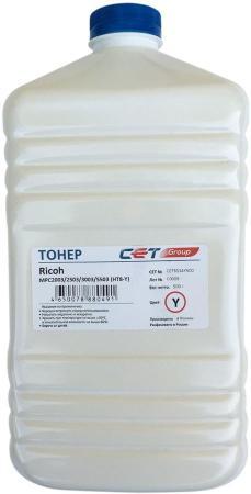 Фото - Тонер Cet HT8-Y CET8524Y500 желтый бутылка 500гр. для принтера RICOH MPC2003/2503/3003/5503 тонер ricoh c7100 828331 желтый