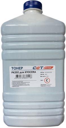Фото - Тонер Cet PK202 OSP0202C-500 голубой бутылка 500гр. для принтера Kyocera FS-2126MFP/2626MFP/C8525MFP printio бутылка металлическая 500 мл вечно молодой