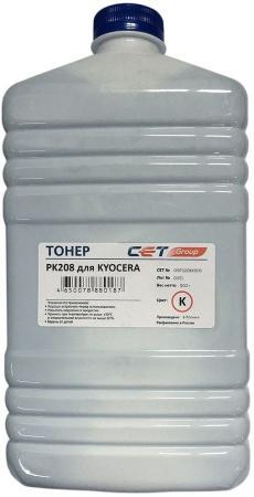 Фото - Тонер Cet PK208 OSP0208K-500 черный бутылка 500гр. для принтера Kyocera Ecosys M5521cdn/M5526cdw/P5021cdn/P5026cdn printio бутылка металлическая 500 мл вечно молодой