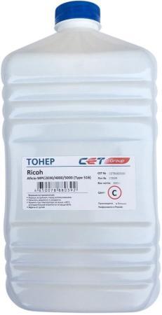 Фото - Тонер Cet Type 516 CET8065500 голубой бутылка 500гр. для принтера Ricoh Aficio MPC2030/4000/5000 ролик подачи бумаги ricoh af031090 для aficio 3035 3045 mp3500 4000 4500 5000