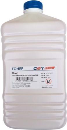 Фото - Тонер Cet Type 516 CET8071500 пурпурный бутылка 500гр. для принтера Ricoh Aficio MPC2030/4000/5000 ролик подачи бумаги ricoh af031090 для aficio 3035 3045 mp3500 4000 4500 5000