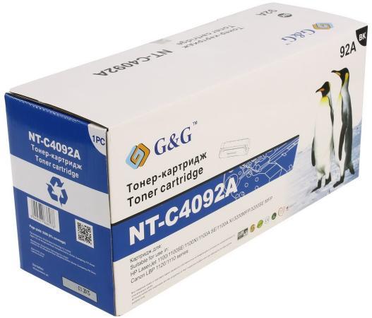 Фото - Картридж лазерный G&G NT-C4092A черный (2500стр.) для HP LJ 1100/3200/3220 площадка giotto s g mh601 90мм для адаптера g mh621