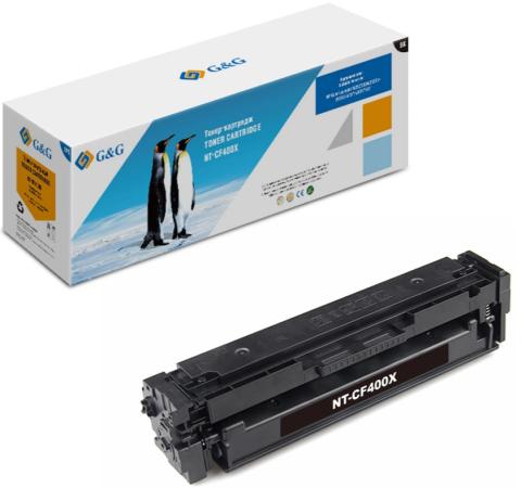 Фото - Картридж лазерный G&G NT-CF400X черный (2800стр.) для HP CLJ M252/252N/252DN/252DW/M277n/M277DW тонер картридж cactus cs cf401a голубой для hp clj m252 252n 252dn 252dw m277n m277dw 1400стр