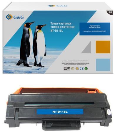 Фото - Картридж лазерный G&G NT-D115L черный (3000стр.) для Samsung Samsung Xpress SL-M2620/2820/M2670/2870 картридж nv print mlt d115l для samsung sl m2620 2820 2870 3000k