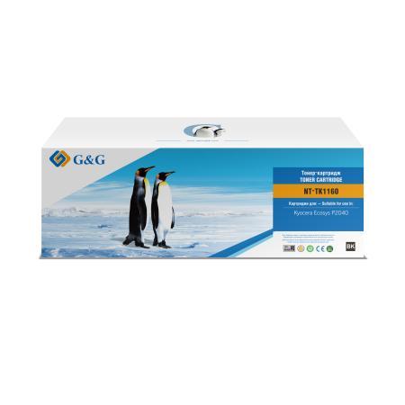 Фото - Картридж лазерный G&G NT-TK1160 черный (7200стр.) для Kyocera Ecosys P2040 площадка giotto s g mh601 90мм для адаптера g mh621