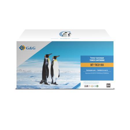 Фото - Картридж лазерный G&G NT-TK3190 черный (25000стр.) для Kyocera ECOSYS P3055dn/P3060dn площадка giotto s g mh601 90мм для адаптера g mh621