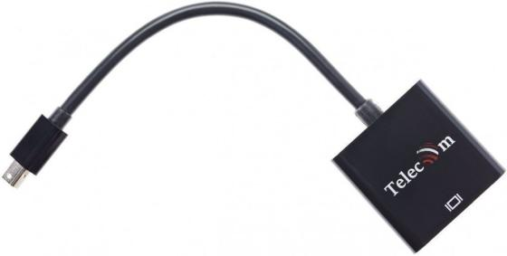 Фото - Кабель-переходник Mini DisplayPort (M) -> HDMI (F), 4K@60Hz, Telecom (TA6056) кабель telecom mini displayport hdmi ta695 1 8 м черный