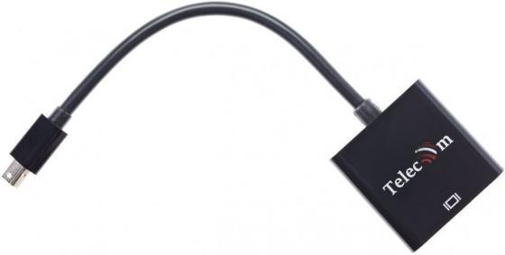 Фото - Кабель-переходник Mini DisplayPort (M) -> HDMI (F), 4K@60Hz, Telecom (TA6056) аксессуар telecom mini displayport m to hdmi m 1 8m ta695