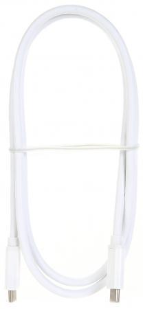 Фото - Кабель Type-C 1м TELECOM TC400 круглый белый кабель borasco usb type c 2а 1м белый