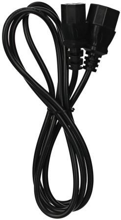 Фото - Кабель UPS - устройство 220V (IEC-320-C13/C14) <VDE>3G0,75mm2 ,3,0m, медь,Telecom <TE001-CU0.75-3M> hp ups t1500 g4 intl 220v 230v 240v 1500va 1050w input c14 output 8 iec c13 analog af451a