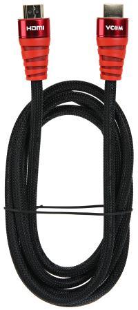 Фото - Кабель HDMI 1.8м VCOM Telecom CG526S-R-1.8M круглый черный кабель vcom hdmi hdmi cg526s 3 м черный