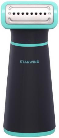 Отпариватель ручной Starwind STG1850 1000Вт черный/бирюзовый