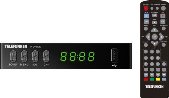 Ресивер DVB-T2 Telefunken TF-DVBT252 черный