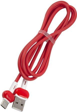 Фото - Кабель Type-C 1м Red Line Candy круглый красный УТ000021994 кабель type c 1м red line candy круглый красный ут000021994