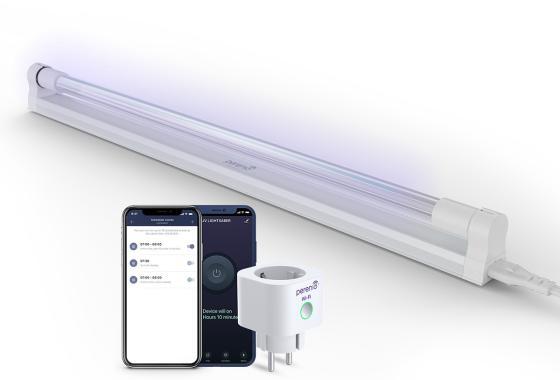 Умная ультрафиолетовая лампа PERENIO UV Lightsaber
