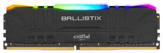 Оперативная память для компьютера 8Gb (1x8Gb) PC4-32000 4000MHz DDR4 DIMM CL18 Crucial BLM8G40C18U4BL оперативная память crucial ballistix max rgb 8gb ddr4 4000mhz dimm 288 pin cl18 blm8g40c18u4bl