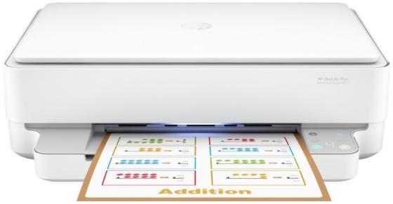 Фото - Струйное МФУ HP DeskJet Plus Ink Advantage 6075 5SE22C мфу hp deskjet plus ink advantage 6075 белый