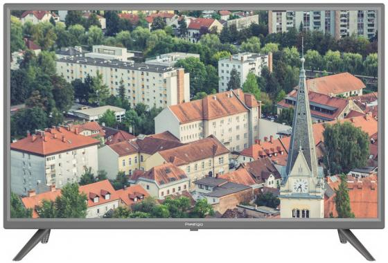 Фото - Телевизор LED 32 Prestigio PTV32SS04Z_CIS_ML серебристый 1366x768 50 Гц Wi-Fi Smart TV 3 х HDMI 2 х USB RJ-45 CI+ телевизор led 31 5 bq 32s02b черный 1366x768 50 гц wi fi smart tv usb rj 45 2 х hdmi ci