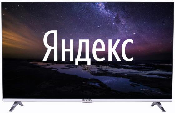 Фото - Телевизор LED Hyundai 43 H-LED43EU1312 Яндекс Frameless черный/Ultra HD/60Hz/DVB-T/DVB-T2/DVB-C/DVB-S/DVB-S2/USB/WiFi/Smart TV (RUS) led телевизор hyundai h led43eu1312