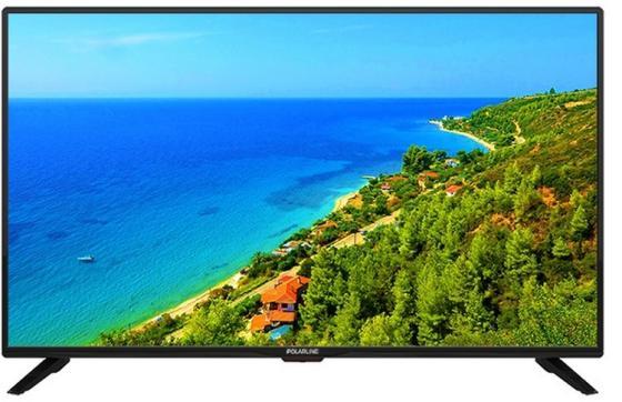 Фото - Телевизор 43 Polarline 43PL51STC-SM черный 1920x1080 50 Гц Wi-Fi Smart TV 3 х HDMI 2 х USB SCART RJ-45 VGA CI+ телевизор led 43 sony kdl43wf804br черный серебристый 1920x1080 50 гц smart tv wi fi rj 45 bluetooth