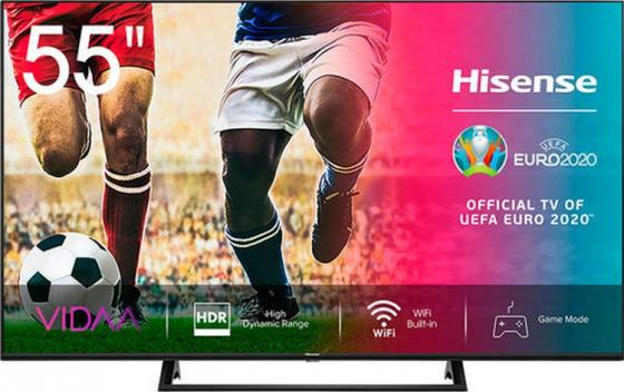 Фото - Телевизор LED Hisense 55 55A7500F черный/Ultra HD/50Hz/DVB-T/DVB-T2/DVB-C/DVB-S/DVB-S2/USB/WiFi/Smart TV (RUS) телевизор led bbk 39 39lex 7168 ts2c черный hd ready 50hz dvb t2 dvb c dvb s2 usb wifi smart tv rus