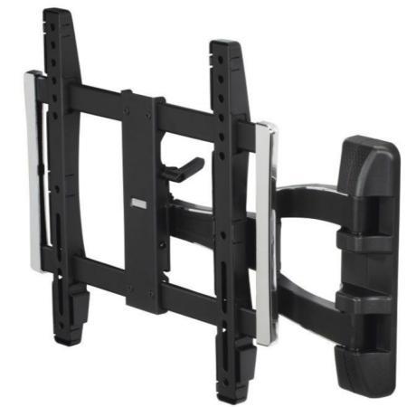 Фото - Кронштейн для телевизора Hama Fullmotion TV Premium черный 32-65 макс.50кг настенный hama fix tv premium 118050 черный