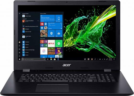Фото - Ноутбук Acer Aspire 3 A317-51SE 17.3 1600x900 Intel Core i5-1035G1 1 Tb 8Gb Intel UHD Graphics черный DOS NX.HZWER.00T ноутбук acer aspire 3 a317 52 53ae 17 3 intel core i5 1035g1 1 0ггц 8гб 256гб ssd intel uhd graphics eshell nx hzwer 00u черный