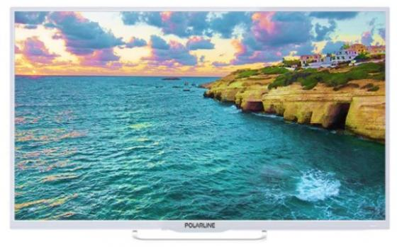 Фото - Телевизор LED PolarLine 40 40PL53TC белый/FULL HD/50Hz/DVB-T/DVB-T2/DVB-C/USB (RUS) телевизор polarline 50pl53tc 50 full hd
