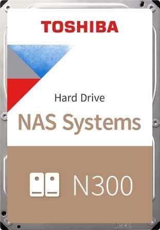 Жесткий диск Toshiba SATA-III 6Tb HDWG160UZSVA NAS N300 (7200rpm) 256Mb 3.5 Bulk жесткий диск toshiba sata iii 6tb hdwr160uzsva x300 7200rpm 256mb 3 5 bulk hdwr160uzsva