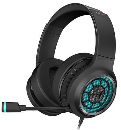 Наушники с микрофоном Edifier G7 черный 3м мониторные USB оголовье
