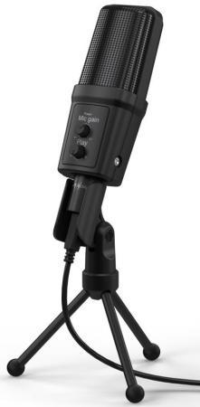 Фото - Микрофон проводной Hama Stream 700 HD 2.5м черный микрофон проводной hama allround 00139906 2м black