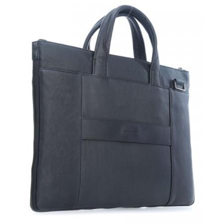Сумка для ноутбука Piquadro Black Square CA4021B3/BLU4 синий натур.кожа сумка piquadro tokyo ca4470s107 синий