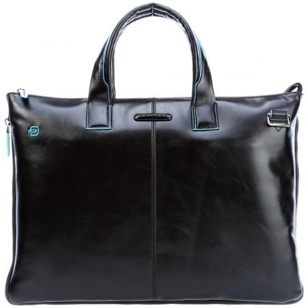 Сумка для ноутбука Piquadro Blue Square CA4021B2/N черный натур.кожа кожаные сумки piquadro ca4021b2 r