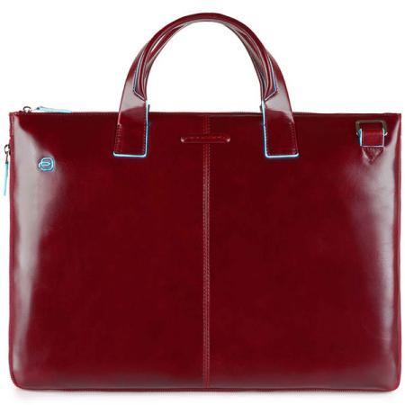 Сумка для ноутбука Piquadro Blue Square CA4021B2/R красный натур.кожа кожаные сумки piquadro ca4021b2 r