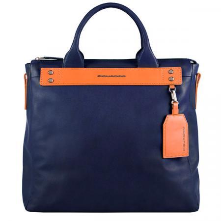 Сумка для ноутбука мужская Piquadro Sendai CA5035S103/BLU синий натур.кожа сумка piquadro tokyo ca4470s107 синий