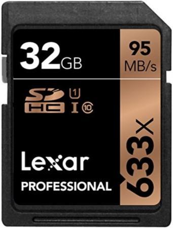 Фото - LEXAR 32GB Professional 633x SDHC UHS-I cards, up to 95MB/s read 20MB/s write C10 V10 U1, Global printio термокружка global offensive