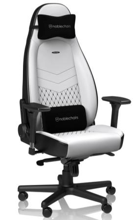 Игровое Кресло Noblechairs ICON (NBL-ICN-PU-WBK) PU Leather / white/black