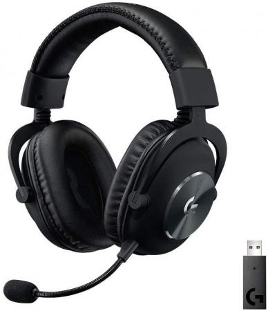 Фото - Игровая гарнитура беспроводная Logitech PRO X Wireless LIGHTSPEED Gaming Headset черный 981-000907 игровая