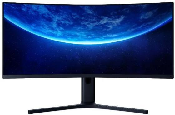 Фото - Монитор 34 Xiaomi Mi Curved Gaming черный VA 3440x1440 300 cd/m^2 4 ms HDMI DisplayPort Аудио BHR4269GL xiaomi mi curved gaming m 34 bhr4269gl