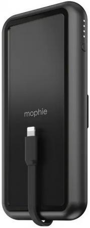 Фото - Внешний аккумулятор Power Bank 8000 мАч Mophie Powerstation Plus Wireless черный внешний аккумулятор power torch 8000 мач глянцевый белый