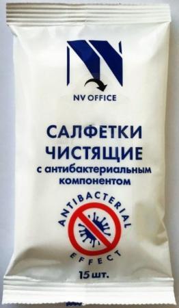 Фото - Антибактериальные салфетки для поверхностей NV-Office, мягкая упаковка, 180х110 мм,15шт антибактериальные салфетки для поверхностей nv office мягкая упаковка 180х110 мм 15шт