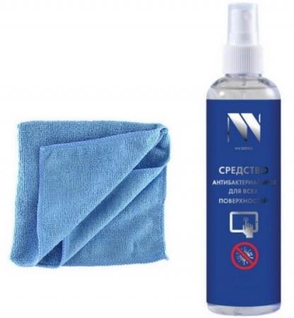 Фото - Антибактериальный набор для поверхностей NV-Office, 250 мл(спрей+салфетка) davines kit your hair assistant подарочный набор для подготовки волос к укладке 2 250 мл 200 мл
