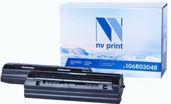 Картридж NVP совместимый NV-106R03048 для Xerox Phaser 3020/WorkCentre 3025 (3000k) картридж t2 для xerox phaser 3020 workcentre 3025 1500стр черный 106r02773