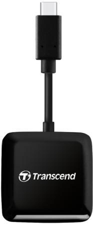 Фото - OTG кард-ридер Transcend RDC3 с интерфейсом USB Type-C для карт памяти SD/microSD карт ридер liberty project usb micro usb otg micro sd usb pink r0007634