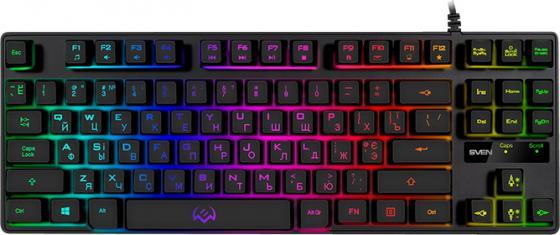 Фото - Клавиатура проводная Sven KB-G7400 USB черный клавиатура проводная genius kb 125 usb черный